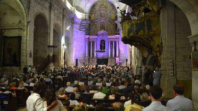 500 personas acuden al concierto de la Orquestra Simfònica de les Illes Balears en Santanyí