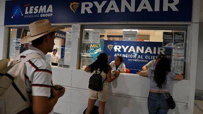 Ryanair deberá operar hasta el 59 por ciento de vuelos nacionales e internacionales durante la huelga