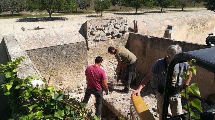 Los trabajos de exhumación de la fosa de Sencelles comienzan este lunes