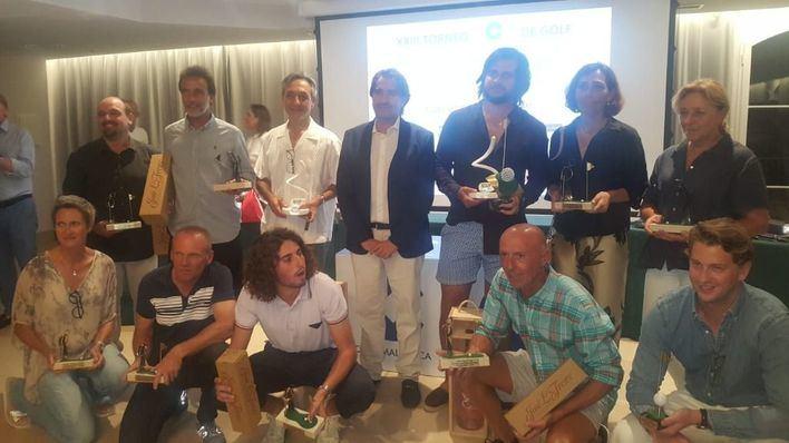 Ignacio y Enrique Fons, ganadores del XXXIII Torneo Cope de Golf