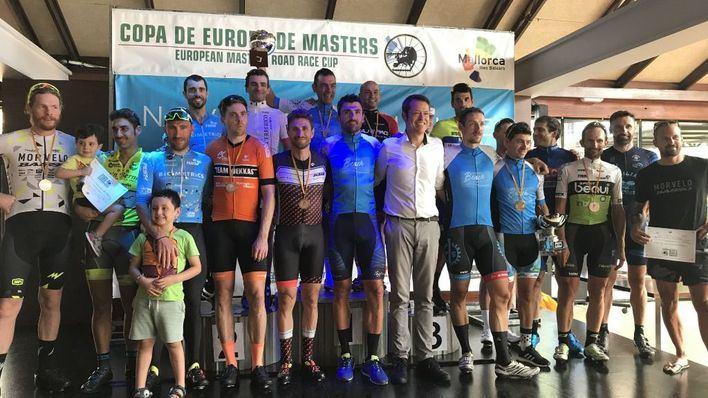 Gelabert y Peris, campeones de la XXIV Copa de Europa de Ciclismo Másters