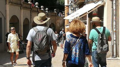 Palma XXI prevé que para 2025 habrá 18.350 turistas menos en el centro de la ciudad