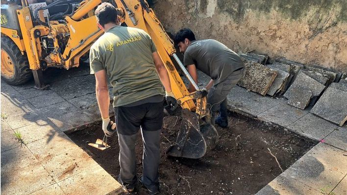 Se inician los trabajos de exhumación de la fosa de Sencelles