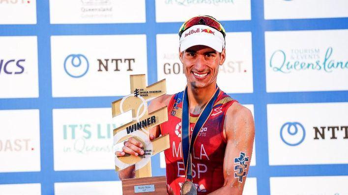 El triatleta Mario Mola recibirá un acto de reconocimiento en Calvià