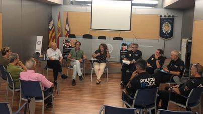 La Policía de Palma inicia encuentros con vecinos para mejorar sus servicios