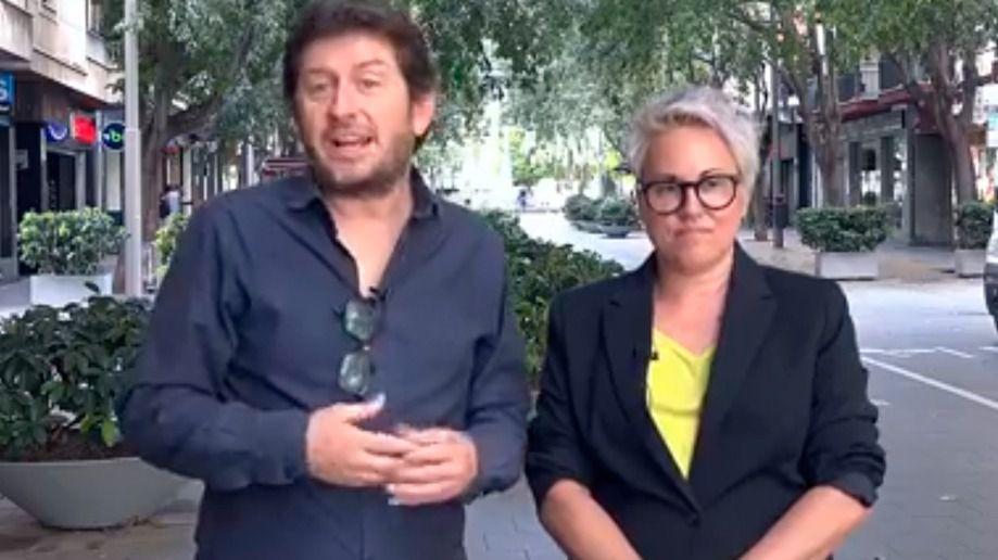 Jarabo se presentará a las primarias de Podem en Palma y Sonia Vivas se suma a su equipo