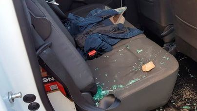 Una unidad móvil de TVE ha sufrido un ataque con piedras
