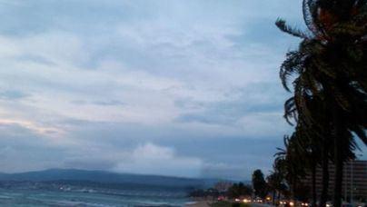 Alerta por fuertes vientos y alguna precipitación ocasional en Mallorca