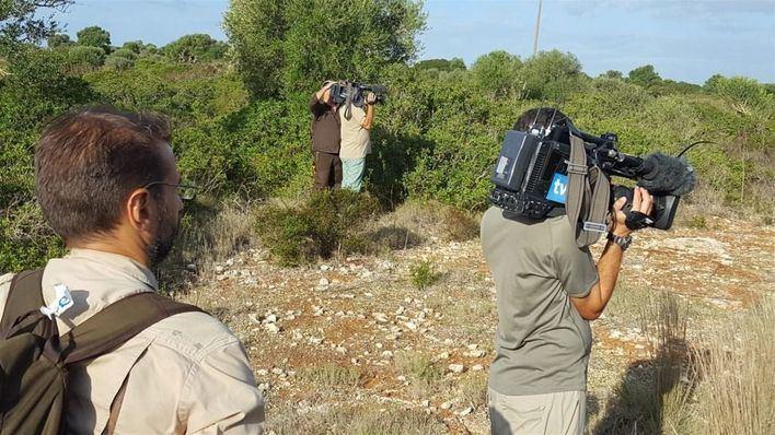El programa 'Jara y Sedal' graba dos documentales en Mallorca