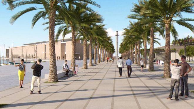 'Rambla de Mar', mejor proyecto para la remodelación del Contramuelle del Puerto de Palma