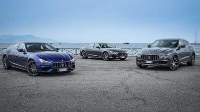 Maserati presenta por primera vez en Mallorca su gama MY19