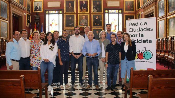 Palma acoge por primera vez la reunión de la Red de Ciudades por la Bicicleta