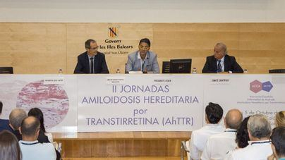 Son Llàtzer acoge las II Jornadas de Amiloidosis Hereditaria, una grave enfermedad neurodegenerativa rara