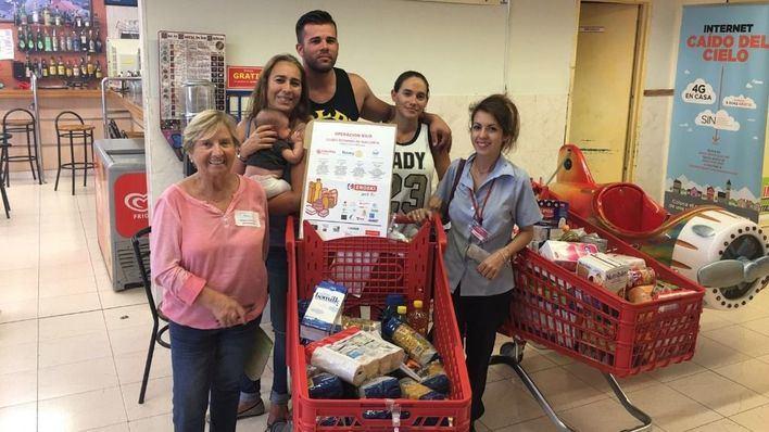 1600 voluntarios colaboran en la Operación Kilo del Rotary Club Mallorca