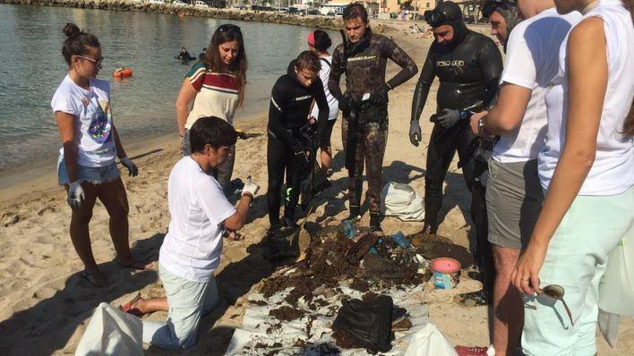 Mallorca se une este sábado a la IV Gran Limpieza Nacional de Fondos Marinos actuando en Es Portixol