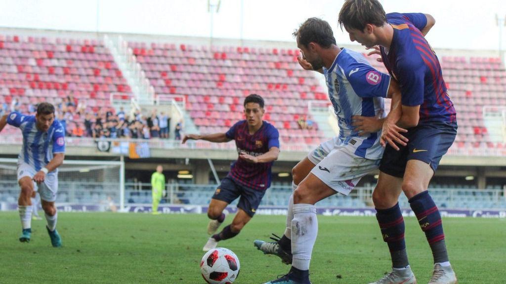 El Baleares empata con el Barça B en el Miniestadi
