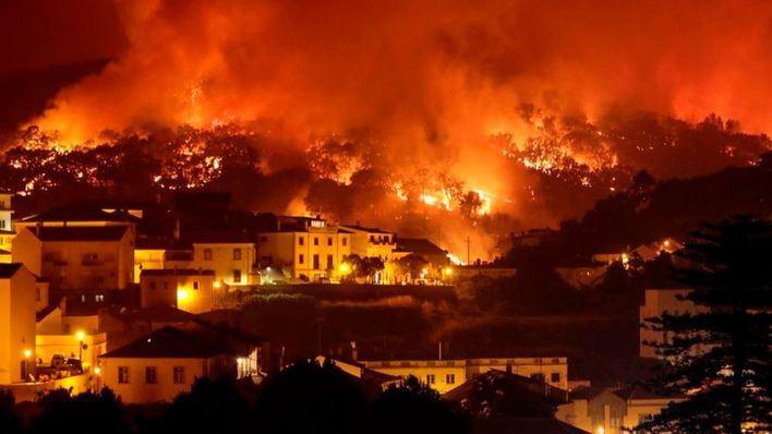 Las autoridades lusas dan por controlado el incendio en Portugal