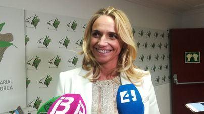 La presidenta de la FEHM, María Frontera