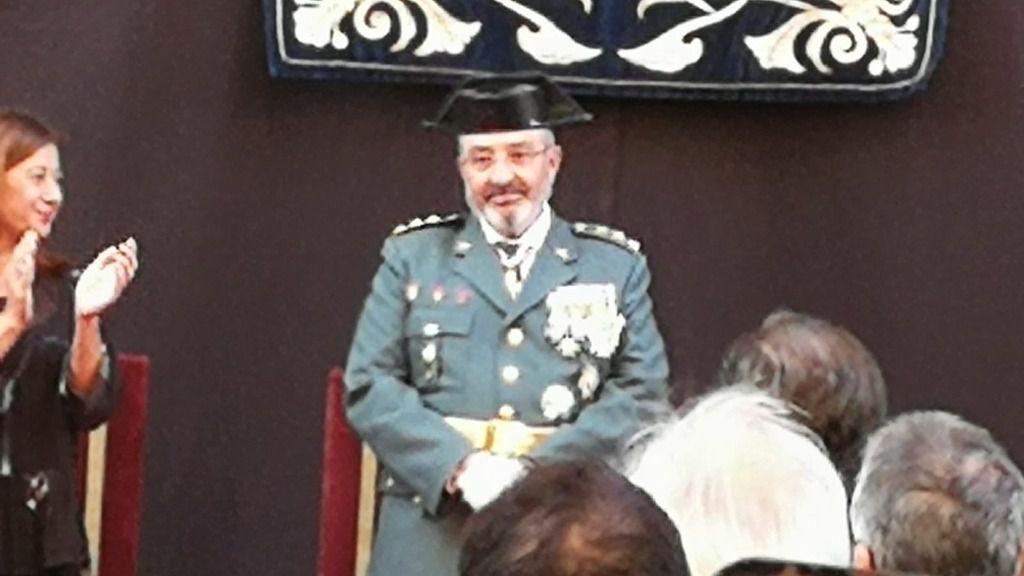 El coronel Barceló, de la Guardia Civil, dice adiós 'sacando pecho' de su mallorquinidad
