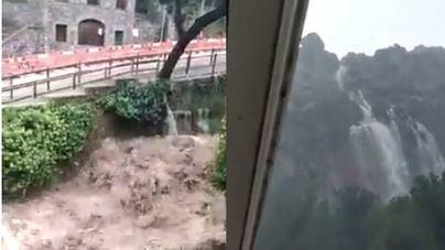 Vea los vídeos de la impresionante 'torrentada' en Escorca