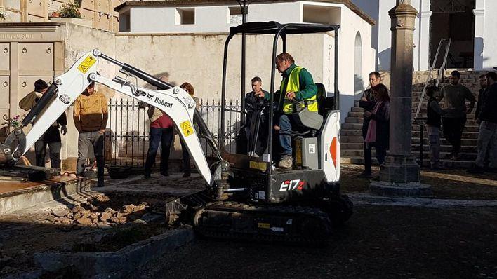 Calvià abre la fosa común del cementerio para exhumar los restos de la Guerra Civil