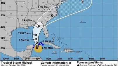 Florida evacúa parte del estado ante la llegada del huracán 'Michael'