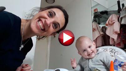 Angelina y su puré: ha nacido una estrella