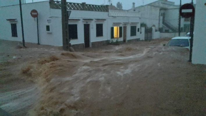 Las lluvias dejaron 232 litros en la Colònia y 220 en Sant Llorenç