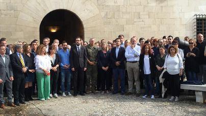 Minutos de silencio y reacciones ante la tragedia en Sant Llorenç