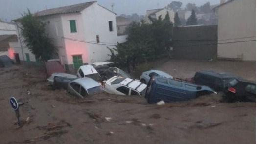 Una mujer consiguió salvar a su hija antes de morir arrastrada por la riada