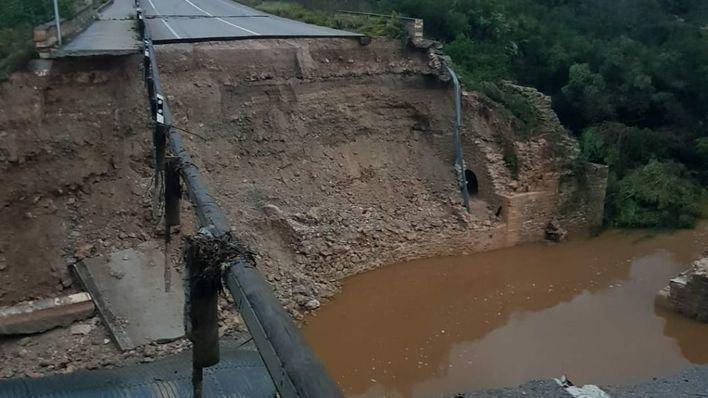 Solo la reparación de puentes y carreteras costará 23 millones