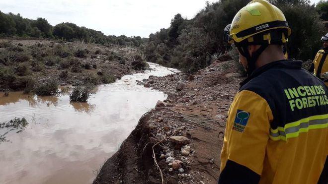 El Torrente de Sant Llorenç figura como 'área inundable de riesgo significativo'