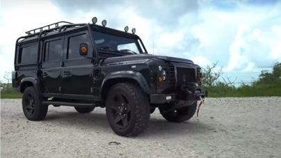 Este Land Rover es la pesadilla de los ecologistas