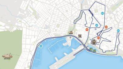 Cortan al tráfico el Paseo Marítimo de Palma por la Zafiro Palma Marathon
