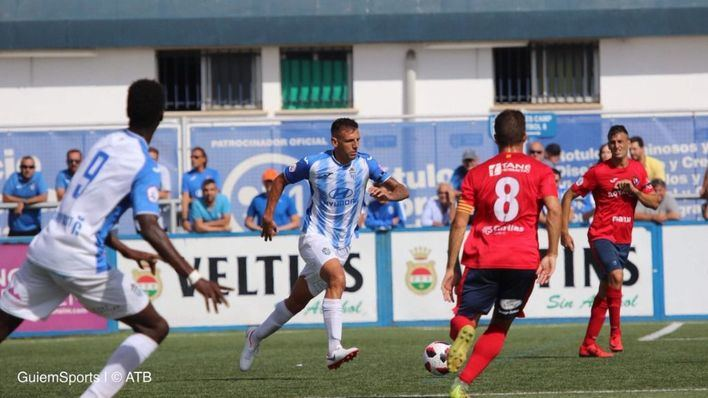 El Baleares vence en casa al Olot (1-0)