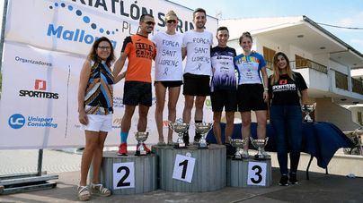Guiem Soler y Ana Soler ganan el II Triatlón Sprint Platja de Muro