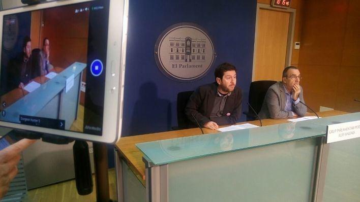 Un grupo de militantes presentan una precandidatura a las primarias de Podemos que apoya a Yllanes
