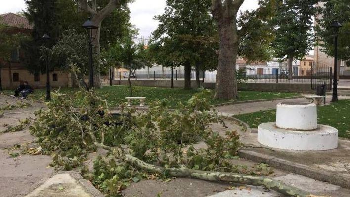 Leslie se debilita en España y pasa como tormenta tropical