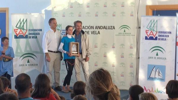 María Perelló campeona absoluta del Trofeo Hispanidad de optimist