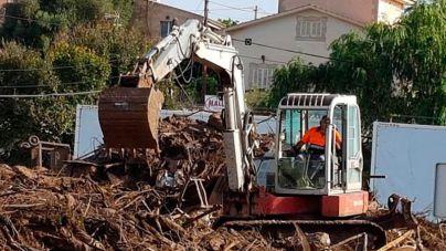 Recogidas 4.200 toneladas de residuos en las zonas de las inundaciones