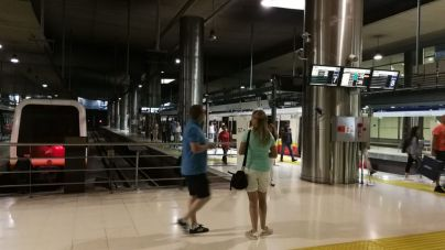 El número de usuarios de Metro se disparó un 41 por ciento en agosto