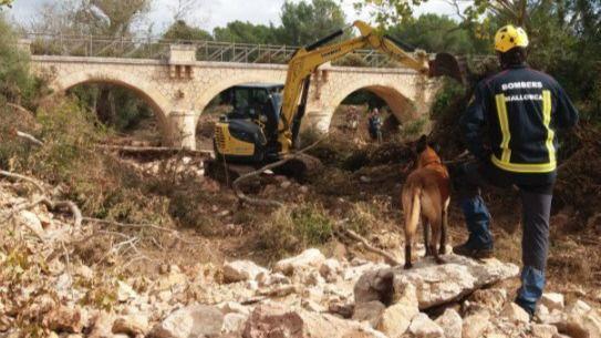 La reconstrucción de Sant Llorenç avanza siete días después de la 'torrentada'
