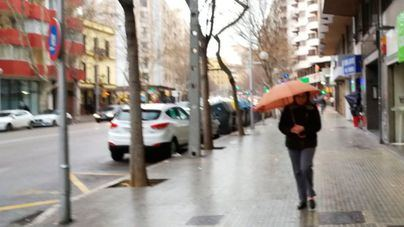 Chubascos y tormentas aisladas a partir de la tarde en Mallorca
