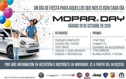 Mopar Day en Auto Vidal, con actividades, sorteos y revisiones gratuitas