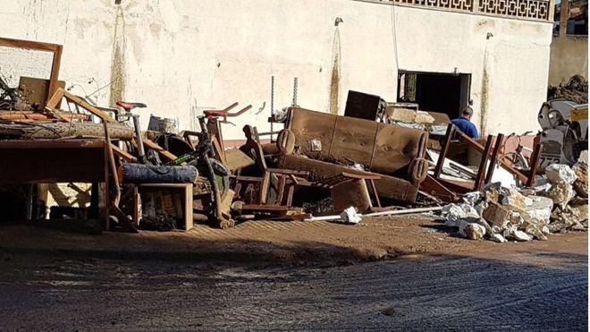 Las familias con pérdidas totales recibirán 5.500 euros de ayuda del Govern