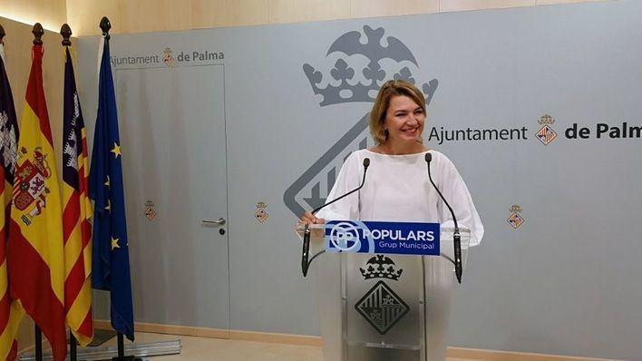 La portavoz del PP en el Ayuntamiento de Palma, Marga Durán