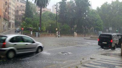 La AEMET advierte de fuertes lluvias y tormentas desde el jueves al domingo en Baleares