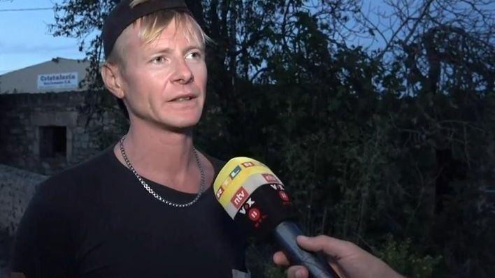 Primer reconocimiento oficial al ciclista alemán que salvó a una niña de la riada de Sant Llorenç