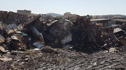 Los residuos retirados de las zonas inundadas superan las 4.000 toneladas
