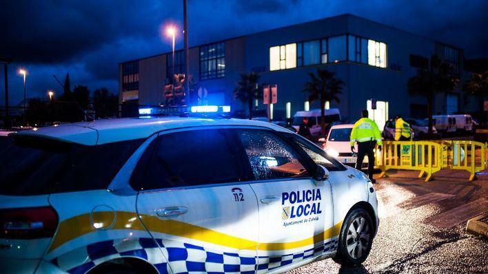 Un conductor, dos motoristas y un operario frenan a un hombre que pegaba a su mujer en Calvià
